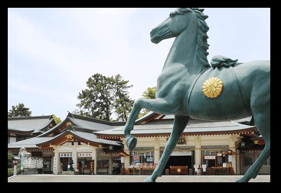 護国神社と所縁の深い写真館